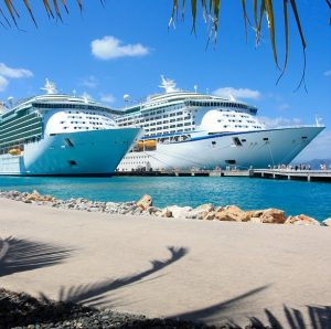 new cruise ships in port